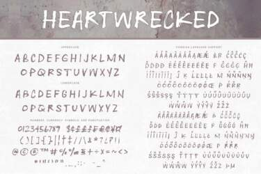 Heartwrecked Letters