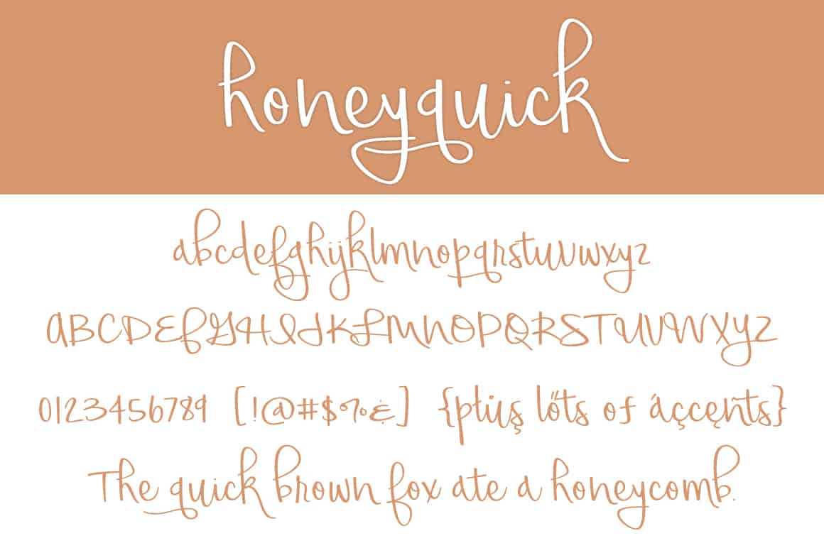 Honeyquick Letters