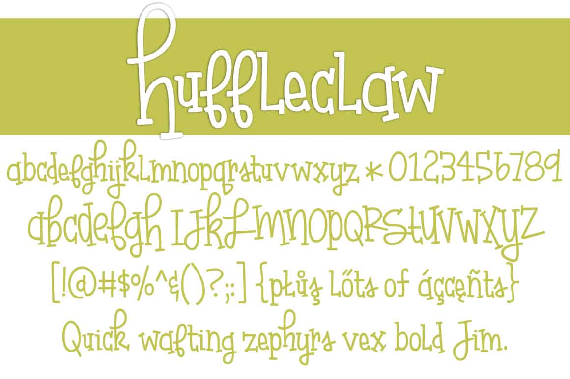 Huffleclaw Letters