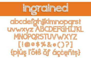 Ingrained Letters