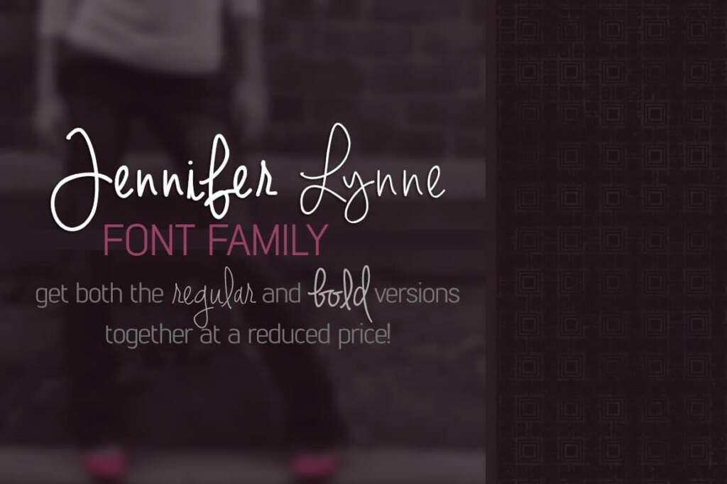 Jennifer Lynne Font Family