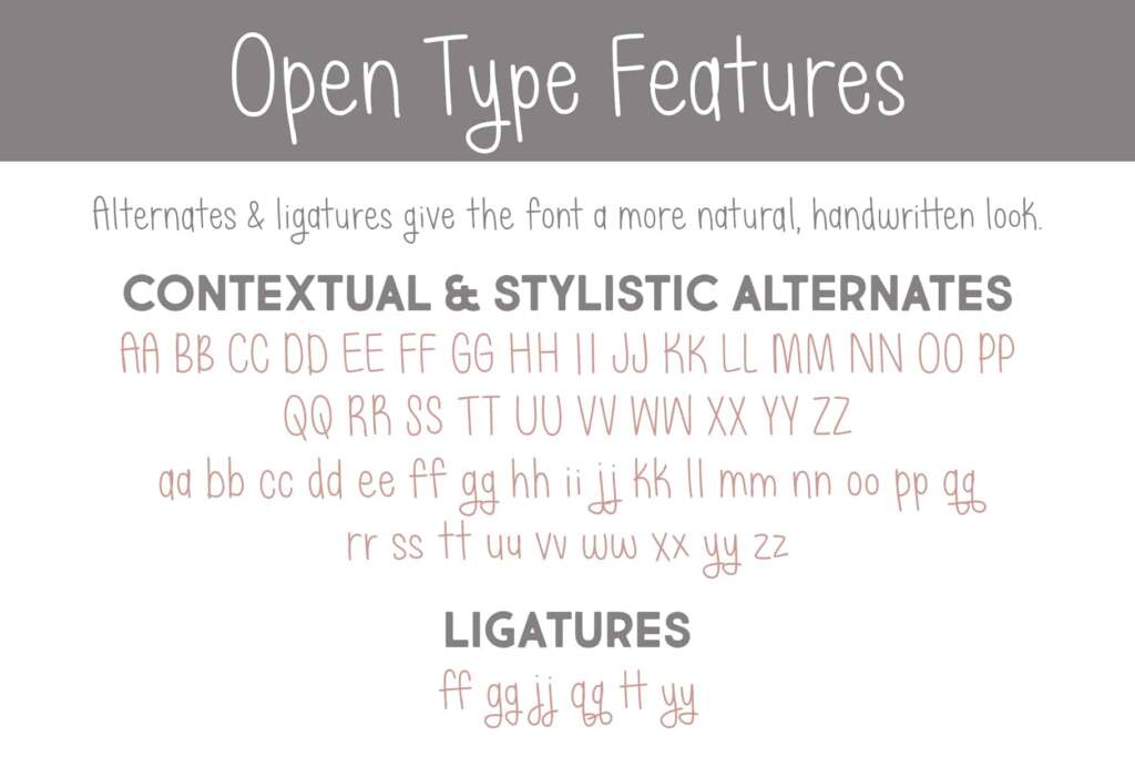 Just Alice Open Type