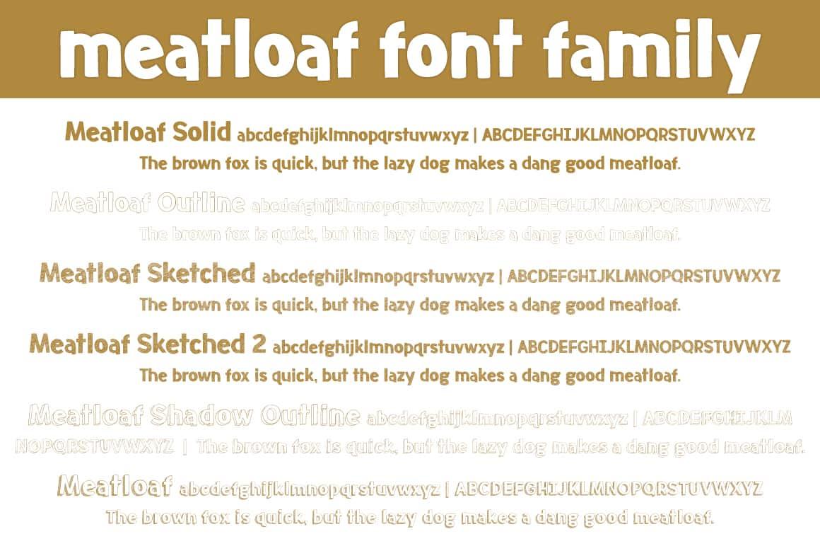 Meatloaf Ff Letters