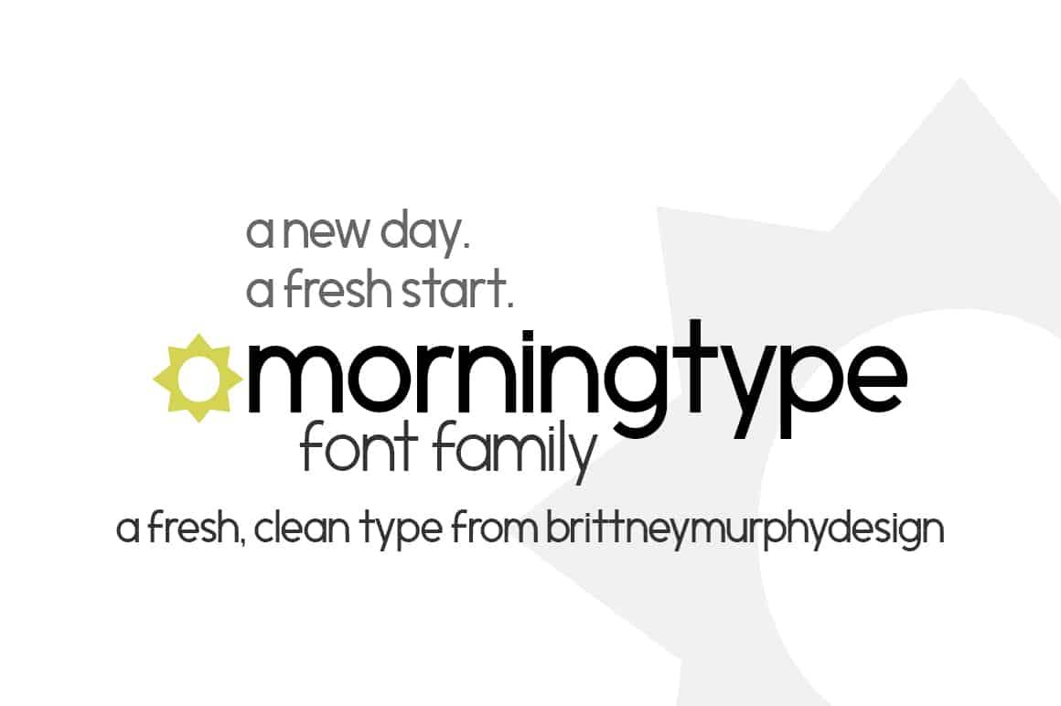 Morningtype Font Family