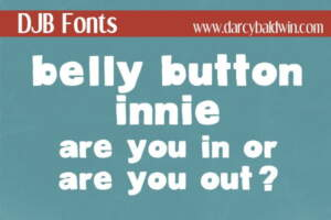Djbfonts Bellybuttoninnie3