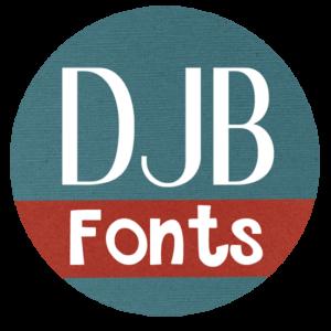 Djbfonts Logo