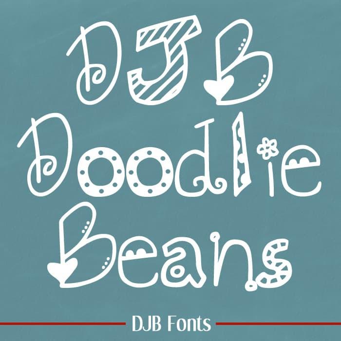 Djbfonts Doodliebeans
