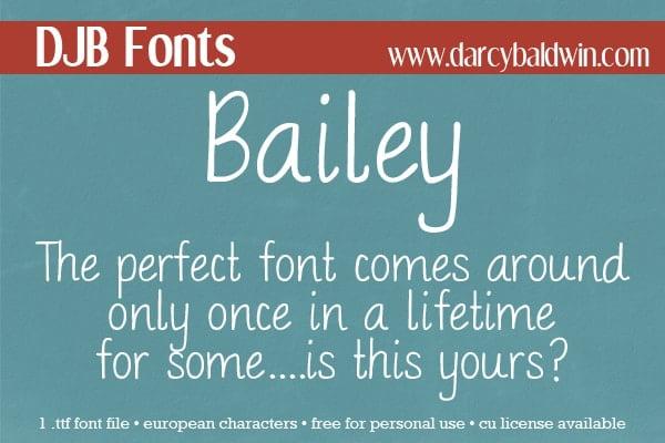 Dbaldwin Bailey Font3