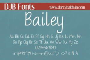 Dbaldwin Bailey Font4