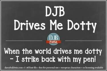 Djbfonts Drivesmedotty2