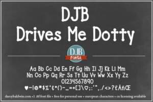 Djbfonts Drivesmedotty3