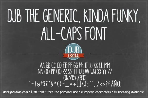Djbfonts Generic3