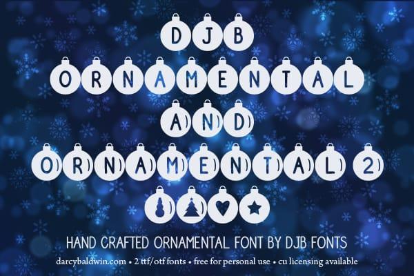 Djbfonts Ornamental1