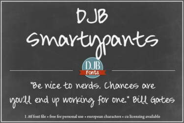 Djbfonts Smartypants2