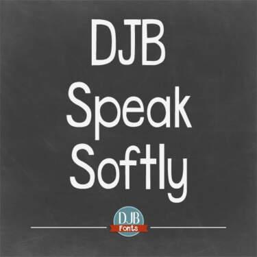 Djbfonts Speaksoftly