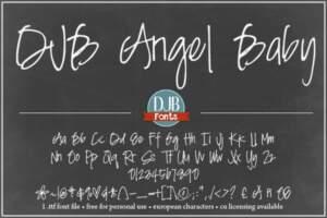 Djbfonts Angelbaby3a