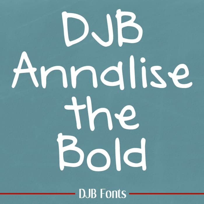 Djbfonts Annaliseb