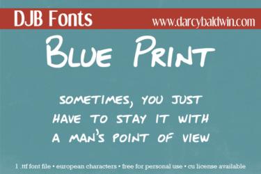 Djbfonts Blueprint