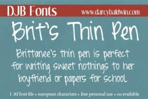 Djbfonts Britsthinpen2