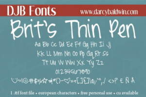 Djbfonts Britsthinpen3