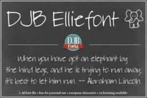 Djbfonts Elliephont2a