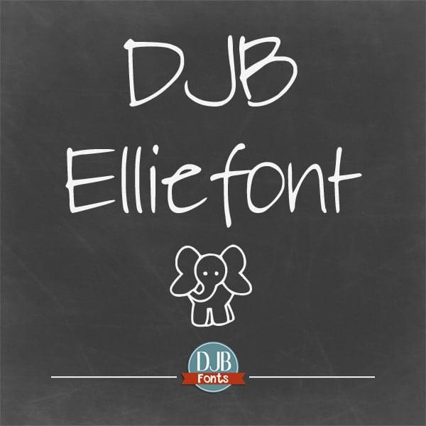 Djbfonts Elliephonta