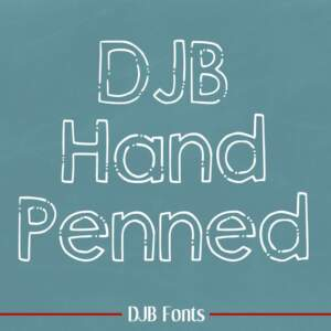 Djbfonts Handpenned