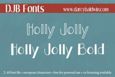 Djbfonts Hollyjolly2