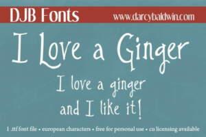 Djbfonts Ginger5