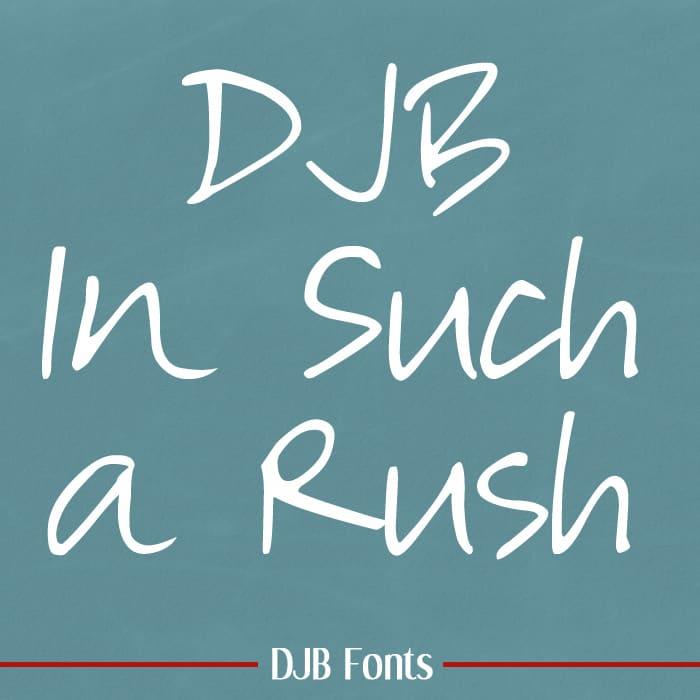 Djbfonts Insucharush