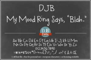 Djbfonts Mymoodring3