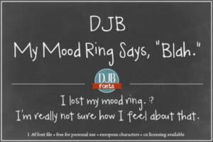 Djbfonts Mymoodring4