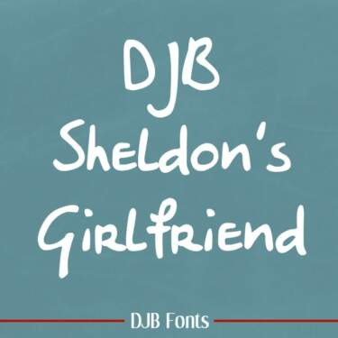 Djbfonts Sheldonsgirlfriend