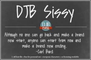 Djbfonts Sissy3