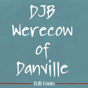 Djbfonts Werecow2