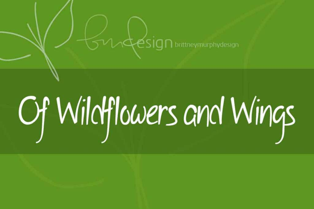 Of Wildflowers And Wings