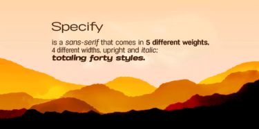 Specify Poster02