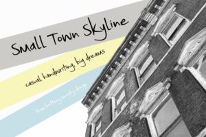 Small Town Skyline Dafont