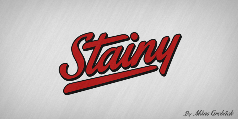 Stainy Poster