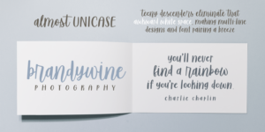 Sugar & Spice Font Duo Myfonts Almost Unicase