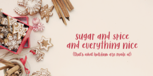 Sugar & Spice Font Duo Myfonts Everything Nice