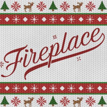 Fireplace Flag