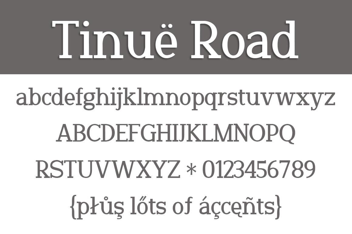 Tinuë Road Letters