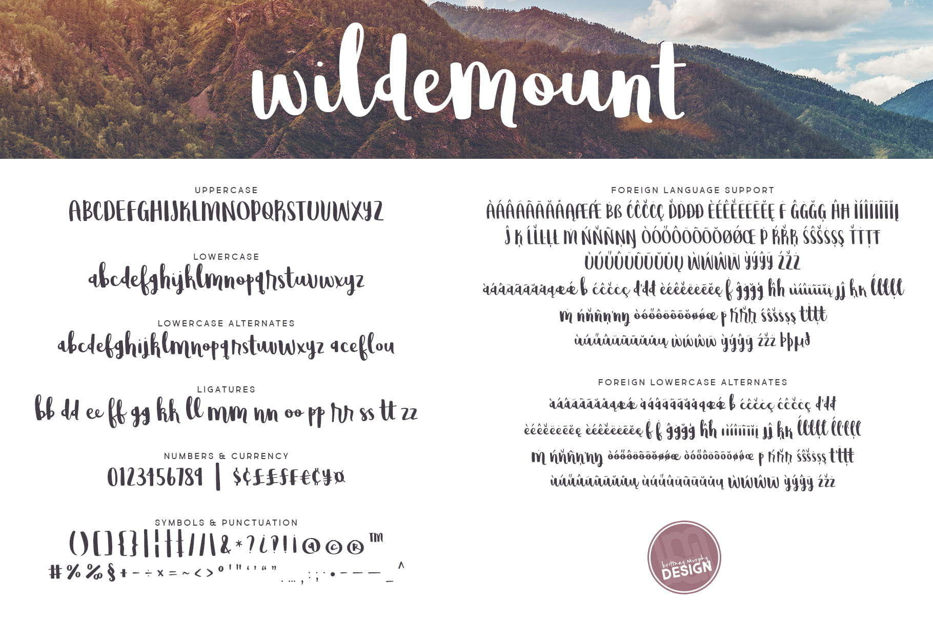 Wildemount All Letters