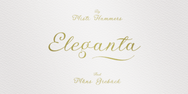 Elegant Calligraphy Poster01