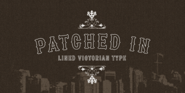 Patched In Poster