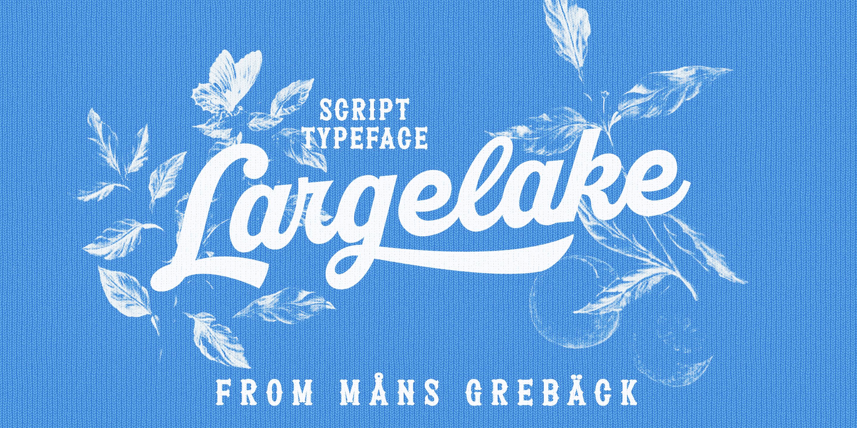 Largelake Poster01
