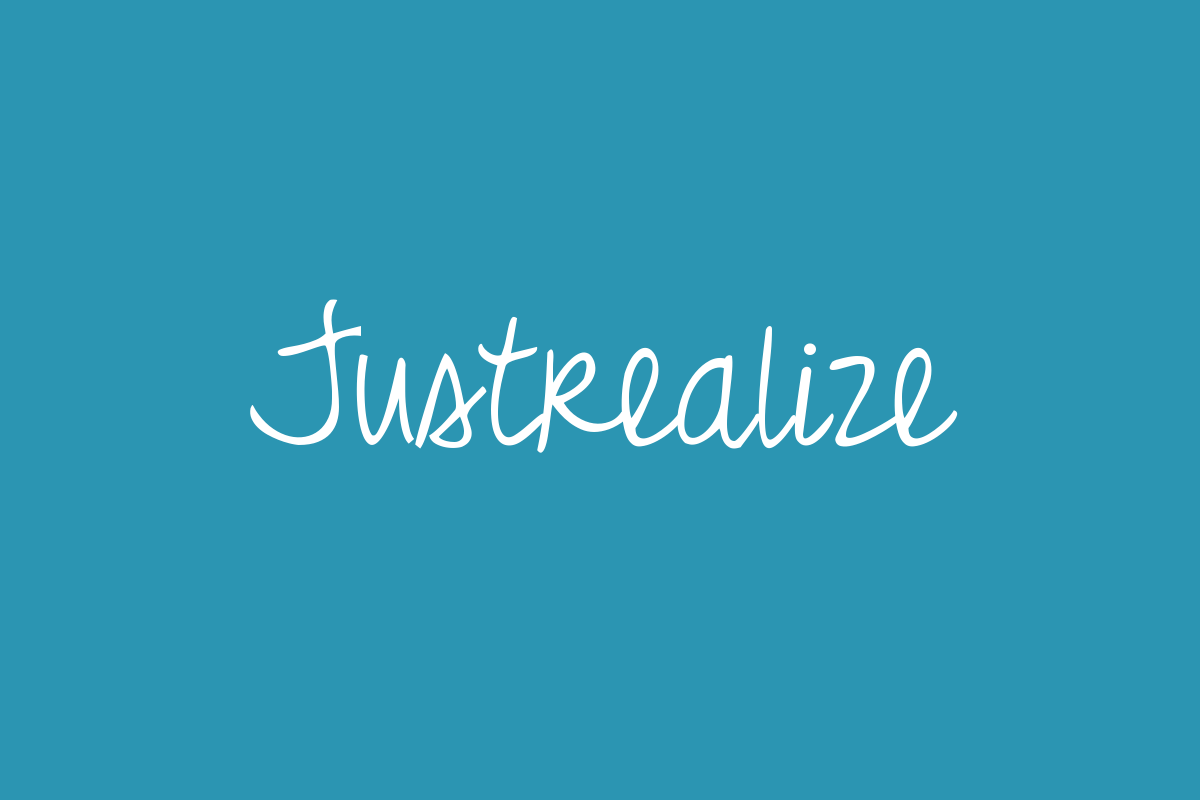 Justrealize Title Image
