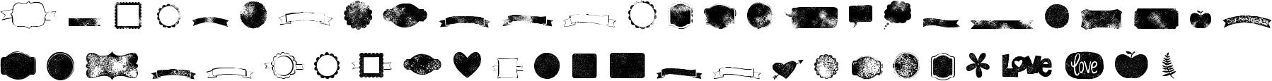 Kgflavorandframesseven Character Map Image