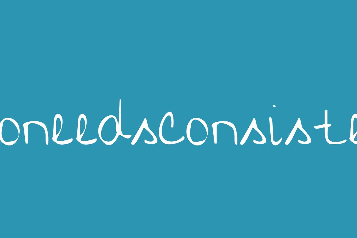 Whoneedsconsistency Title Image